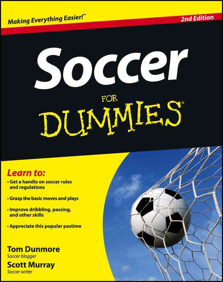 Soccer for Dummies By Dunmore, Thomas/ Murray, Scott